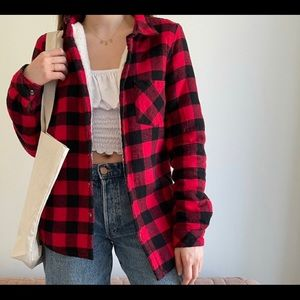 Flannel lined size m